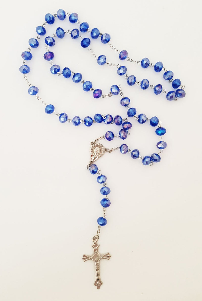 Crystal rosary assortment