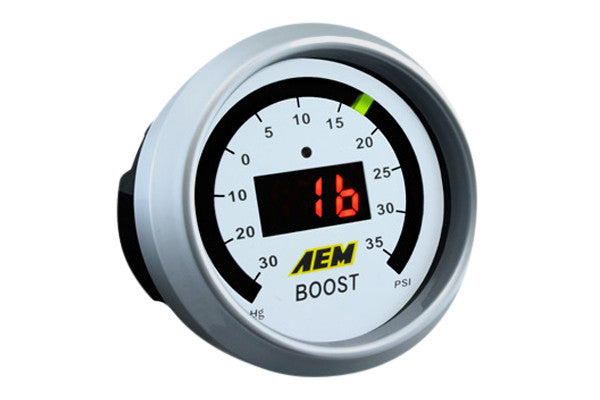 AEM 30-4406 - Digital Boost Gauge (-30 to 35 psi), Universal