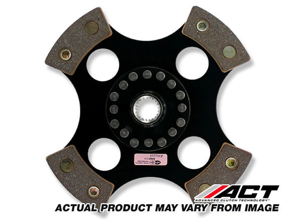 4-Pad Solid Rigid Race Disc Honda Prelude, Accord, Acura CL 1990-2002