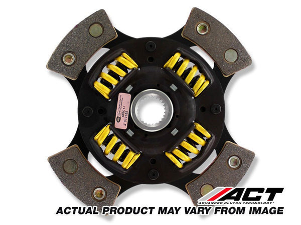 4-Pad Sprung Race Disc Honda Civic, Accord, Acura Integra 1983-1989