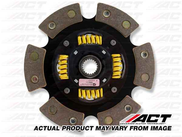 6-Pad Sprung Race Disc Honda Civic Del Sol, CRX, Civic 1989-2005