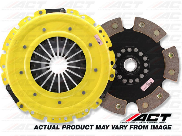 HD 6-Pad Rigid Race Clutch Kit: Honda Accord, Acura, Prelude 1990-2002