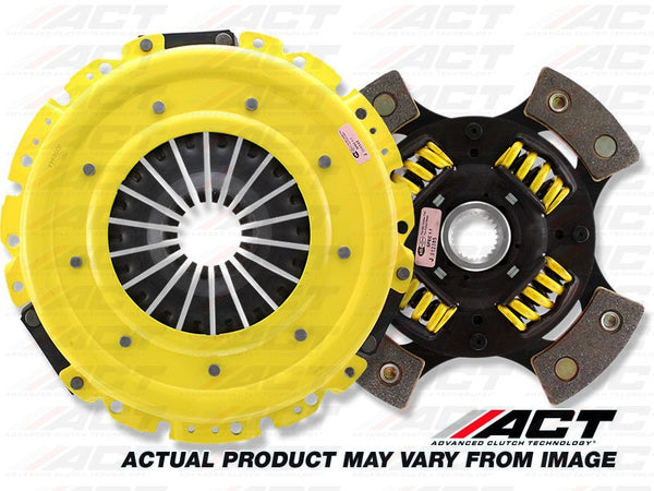 HD 4-Pad Sprung Race Clutch Kit: Acura Integra 1990-1991