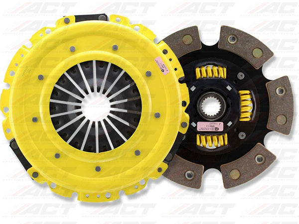 HD 6-Pad Race Sprung Clutch Kit: Acura Integra, Honda Civic, Del Sol, CR-V 1994-2001