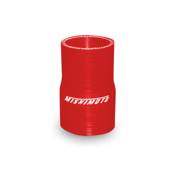 Mishimoto 2.0 to 2.25 Inches Silicone Transition Coupler, Red