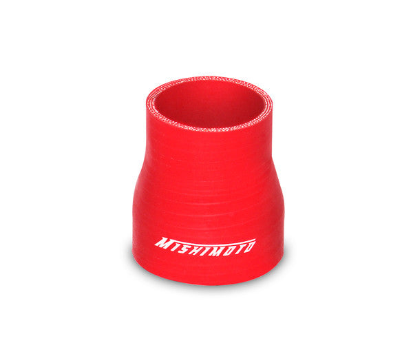 Mishimoto 2.0 Inches to 2.5 Inches Transition Coupler, Red