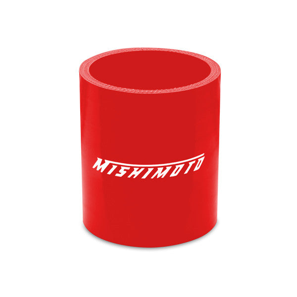 Mishimoto 2.25 Inches Straight Coupler, Red