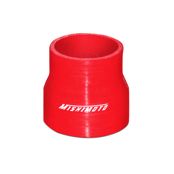 Mishimoto 2.5 Inches to 3 Inches Silicone Transition Coupler, Red