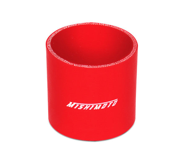 Mishimoto 2.5 Inches Straight Coupler, Red