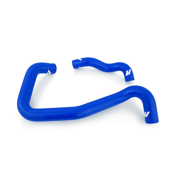 Ford 6.0L Powerstroke Mono Beam Chassis Silicone Coolant Hose Kit, 2005-2007, Blue