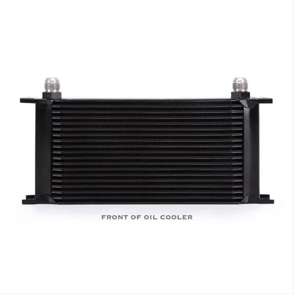 Mishimoto Univeral 19 Row Oil Cooler, Black