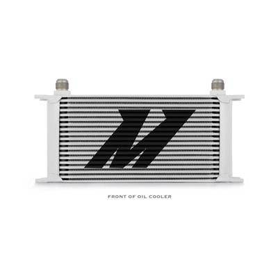 Universal 19 Row Oil Cooler, Silver