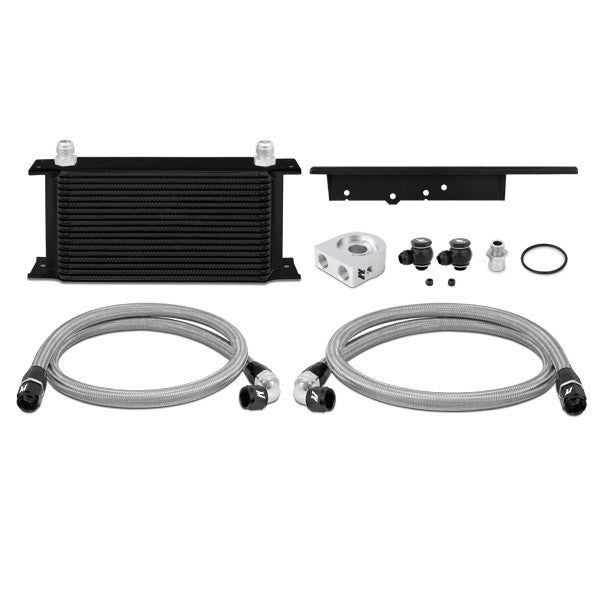 Nissan 350Z, 2003-2009/Infiniti G35, 2003-2007 (Coupe Only) Oil Cooler Kit, Black, (Non-Thermostatic)