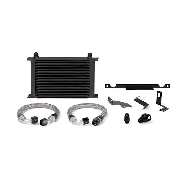 Mitsubishi Lancer Evolution 7/8/9 Oil Cooler Kit, Black, 2003-2006