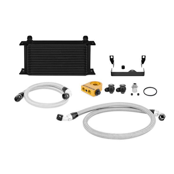 Subaru WRX/STI Oil Cooler Kit, 2006-2007, Black Thermostatic