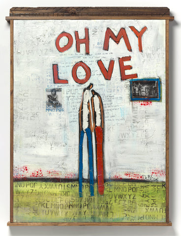 """Oh My Love"" Original Artwork by William DeBilzan"