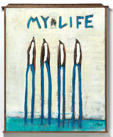 """My Life"" Original Artwork by William DeBilzan"