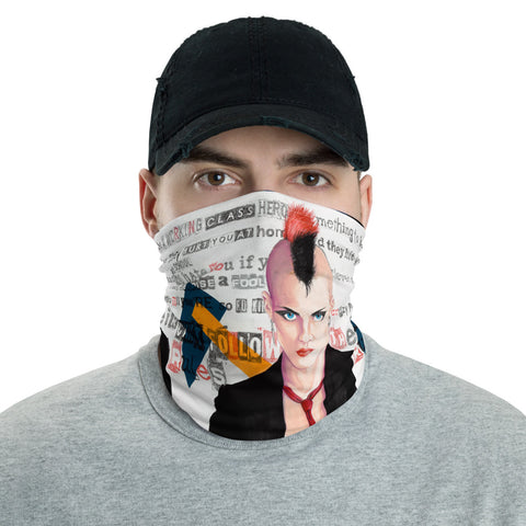 "Neck Gaiter: ""Working Class Hero"" By Alejandro Gehry"