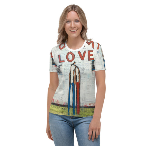 """Oh My Love"" Women's T-shirt By William DeBilzan"