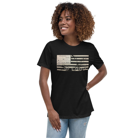 THIS IS AMERICA Women's Relaxed T-Shirt
