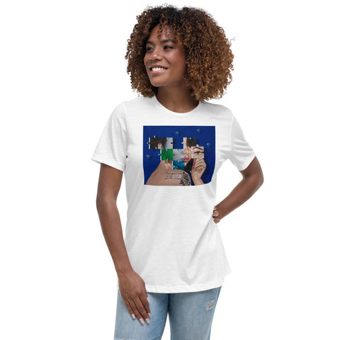 """Lucy"" Women's Relaxed T-Shirt By MR KAS"