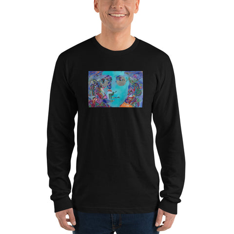 """Turn Off Your Mind"" - Long sleeve t-shirt"
