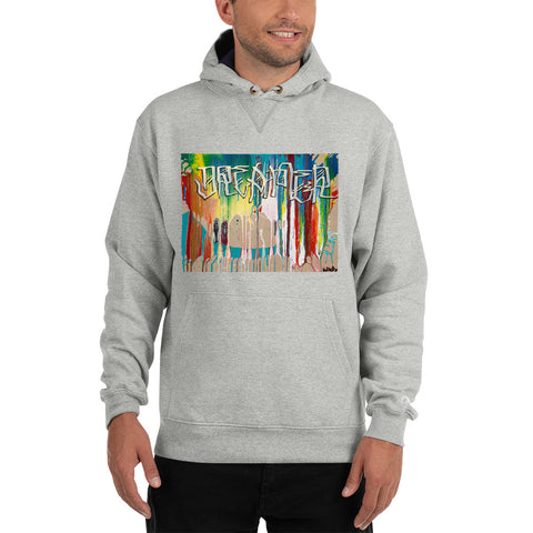 """I'm Not The Only One"" - Champion Hoodie By David Arquette"
