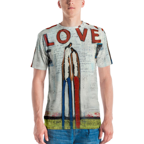 """Oh My Love"" Men's T-shirt By William Debilzan"