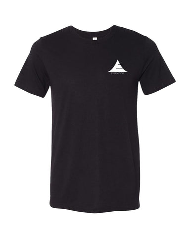Icon Logo Tri-Blend Shirt - Black - Natal Fashion