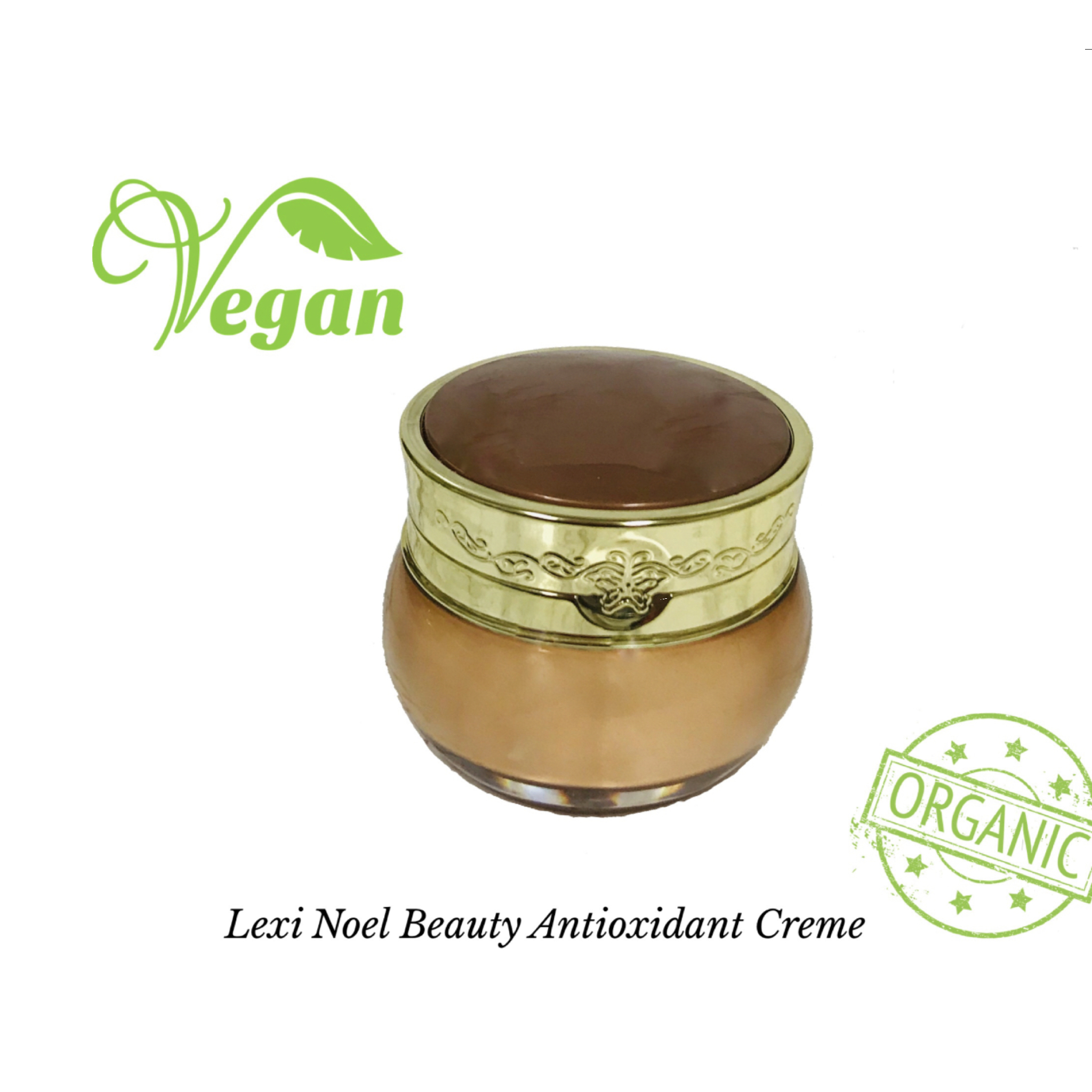 Organic Vegan Antioxidant Face Cream - Natal Fashion