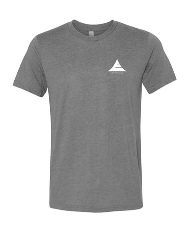 Icon Logo Tri-Blend Shirt - Grey - Natal Fashion