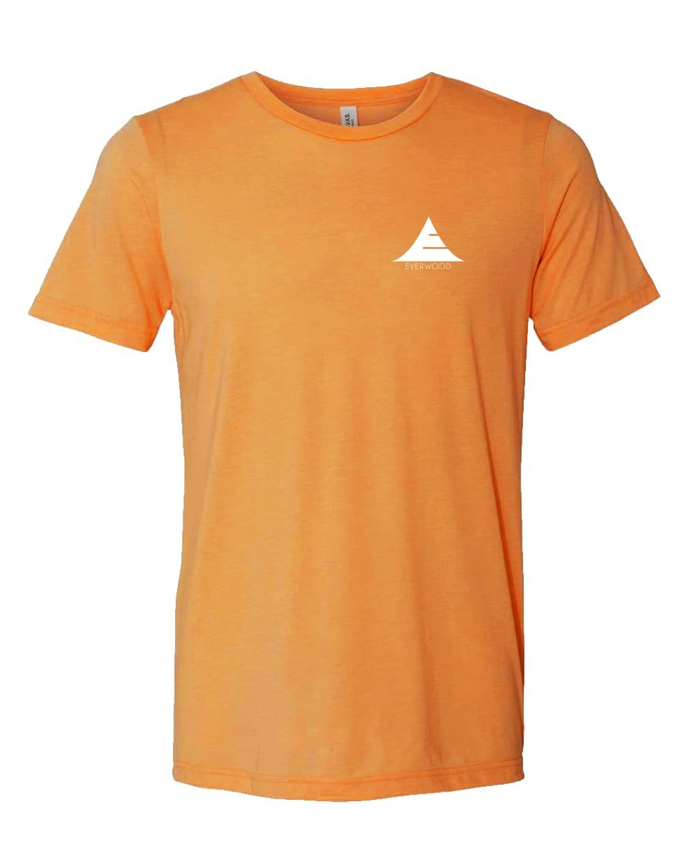 Icon Logo Tri-Blend Shirt - Orange - Natal Fashion
