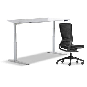 schiavello krossi home office desk electric adjustable height with black frame dash chair without amrs