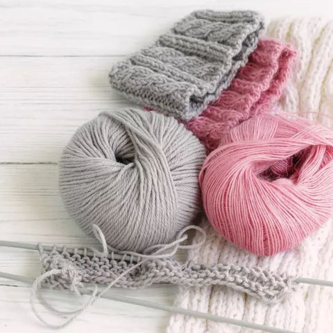 Knitting Wool & Knitting Needles