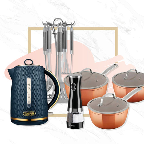 Kitchen & Dinning Appliances, Utensils & Crockery