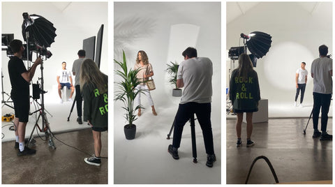 Behind the Scenes at Summer Photoshoot - The Original Factory Shop