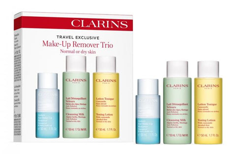 Clarins Make-up Remover Trio