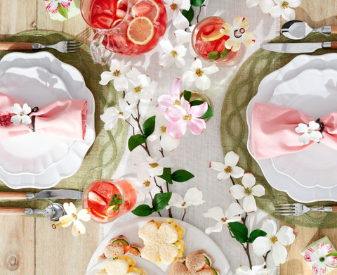 Simple Country Table Setting