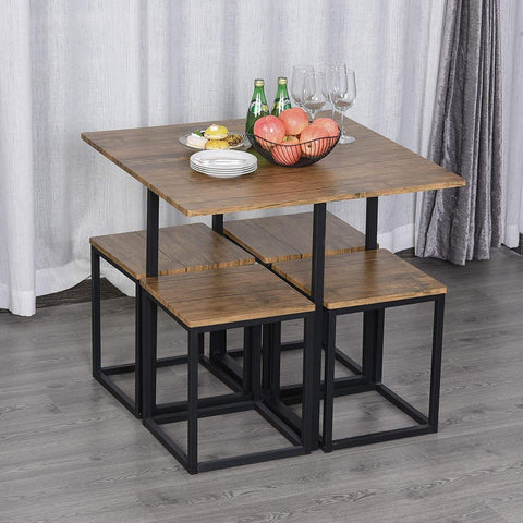 Compact Walnut Dining Table