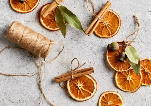 Dried Oranges Slices For Christmas
