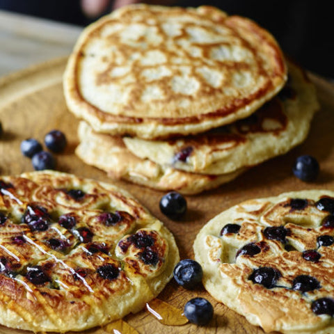 Blueberry Pancakes Recipe by Joes Wickes