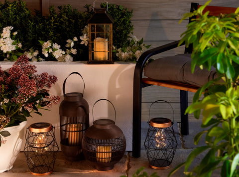 Outdoor Lanterns and Solar Lights