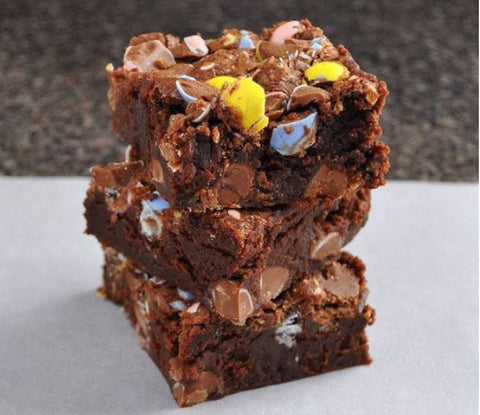 Mini Eggs Brownie