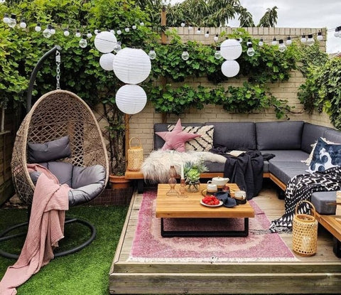 Cosy Outdoor Seating Area