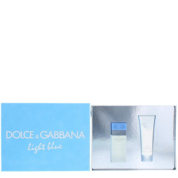 Dolce & Gabbana Light Blue Eau De Toilette 2 Pieces Gift Set