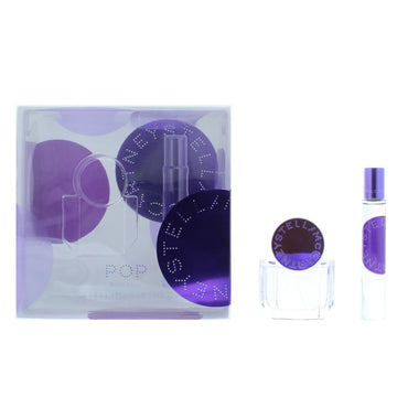Stella Mccartney Pop Bluebell Eau De Parfum Gift Set : Eau De Parfum 30ml - Eau De Parfum Rollerball 7.4ml