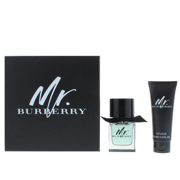 Burberry Mr. Burberry Eau De Toilette 2 Pieces Gift Set
