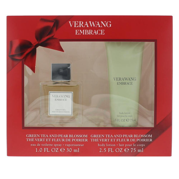 Vera Wang Embrace Green Tea And Pear Blossom Eau De Toilette 2 Pieces Gift Set