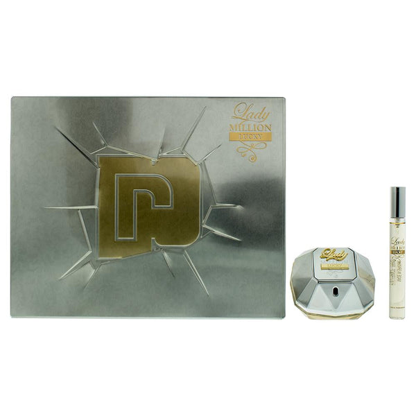 Paco Rabanne Lady Million Lucky Eau De Parfum 2 Pieces Gift Set