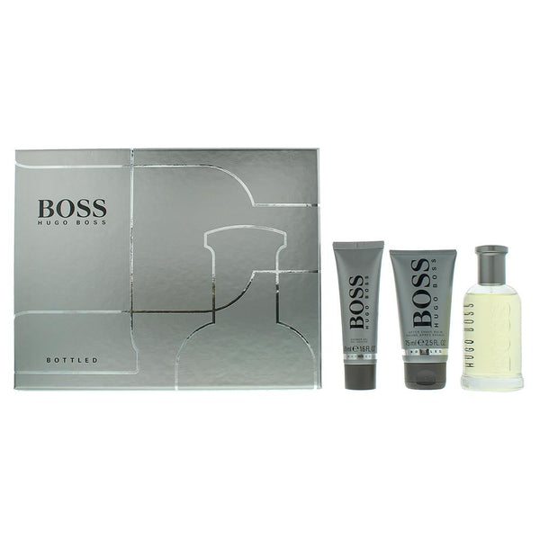 Hugo Boss Bottled Eau De Toilette 3 Pieces Gift Set
